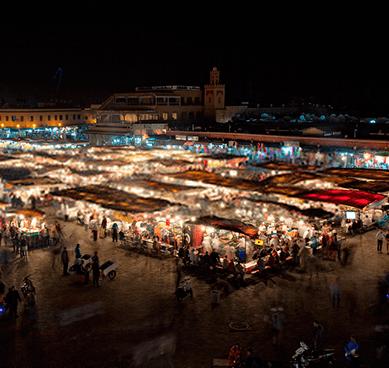 Vida nocturna Marruecos